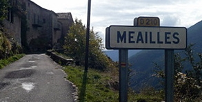 Méailles, la commune